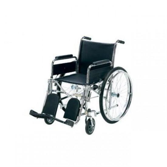 Tekerlekli Sandalye Ayak Kalkar Yan Kol Çıkar Kromajlı HMC8010
