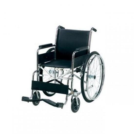Tekerlekli Sandalye Katlanır Kromajlı HMC8008