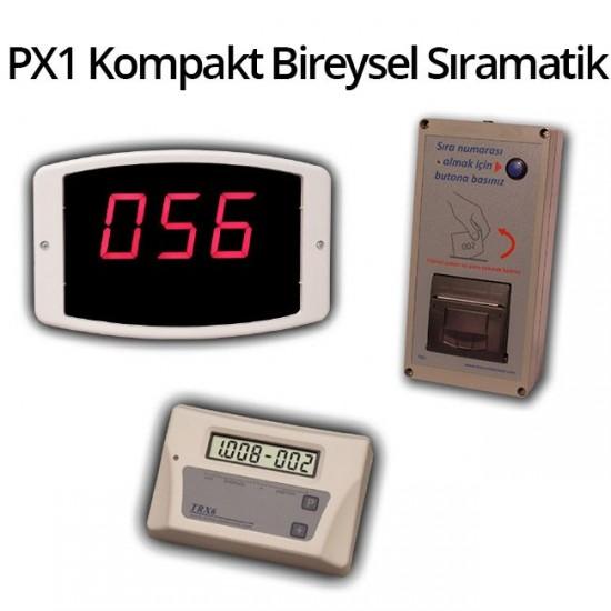 Bireysel Sıramatik Sistemi PX1 (Elektrikli)
