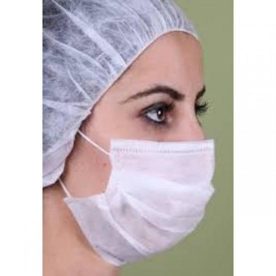 Akyel 3 Katlı Meltblownlu Telli Cerrahi Maske (50lik)