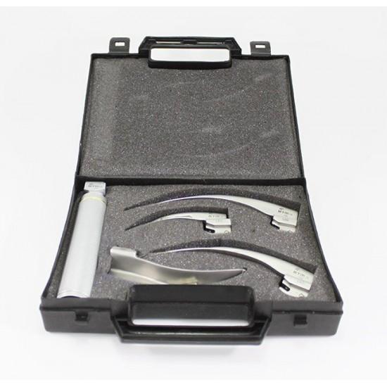 Laringoskop Seti 4 Blade (Led)