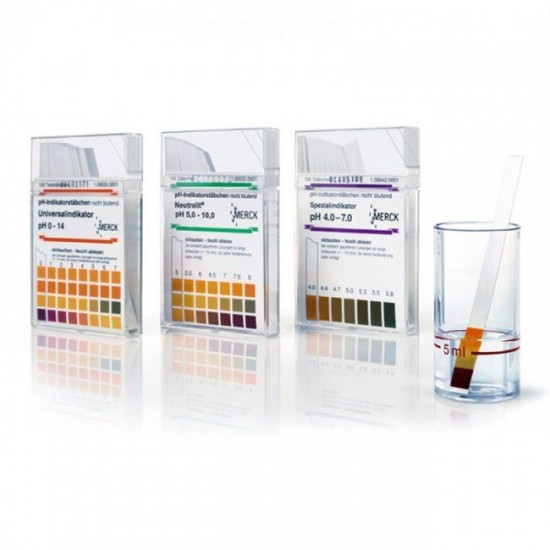 Merck pH Kağıdı 0-14 (Indicator Strip)