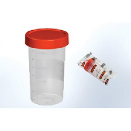 Steril Numune Kabı (200ml) 50 Adet