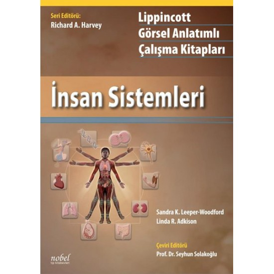 Lippincott İnsan Sistemleri: Görsel Anlatımlı Çalışma Kitapları
