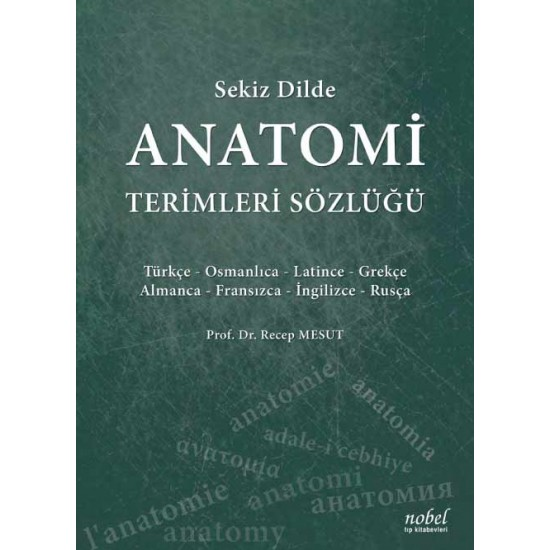 Sekiz Dilde Anatomi Terimleri Sözlüğü