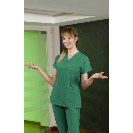 Dr Greys Modeli Cerrahi Takım (Alpaka Kumaş)