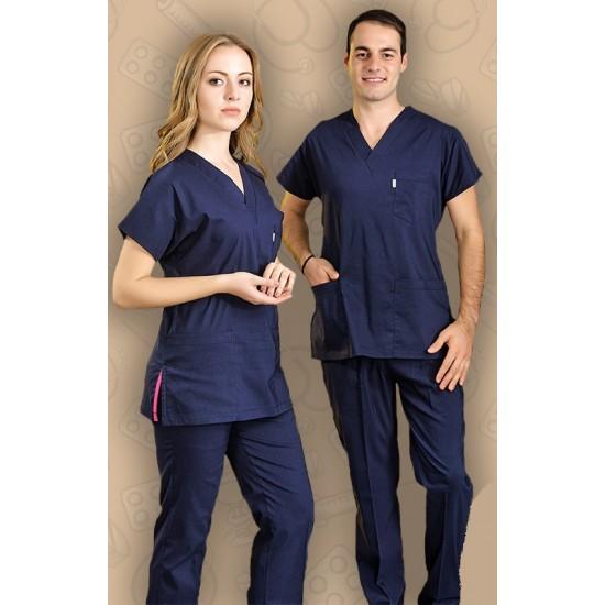Likralı Dr Greys Modeli Cerrahi Takım